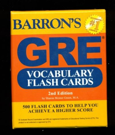 9781438076089 - GRE Vocabulary Flash Cards, 2nd Edition by