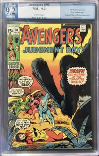 The AVENGERS No. 90 (July 1971) - PGX (like CGC) Graded 9.2 (NM-)