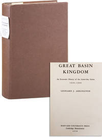 Great Basin Kingdom: an Economic History of the Latter-day Saints 1830-1900
