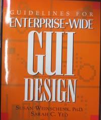 image of Guidelines for Enterprise-Wide Gui Design