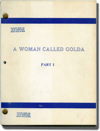 image of A Woman Called Golda [A Woman Called Golda: Part I] (Original teleplay script for the 1982 film)