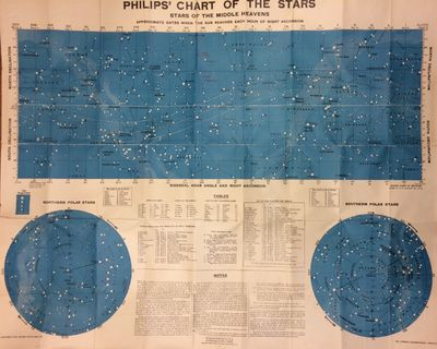 London: George Philip & Son, Ltd, 1944. unbound. very good. Map. Lithograph, paper backed with linen...