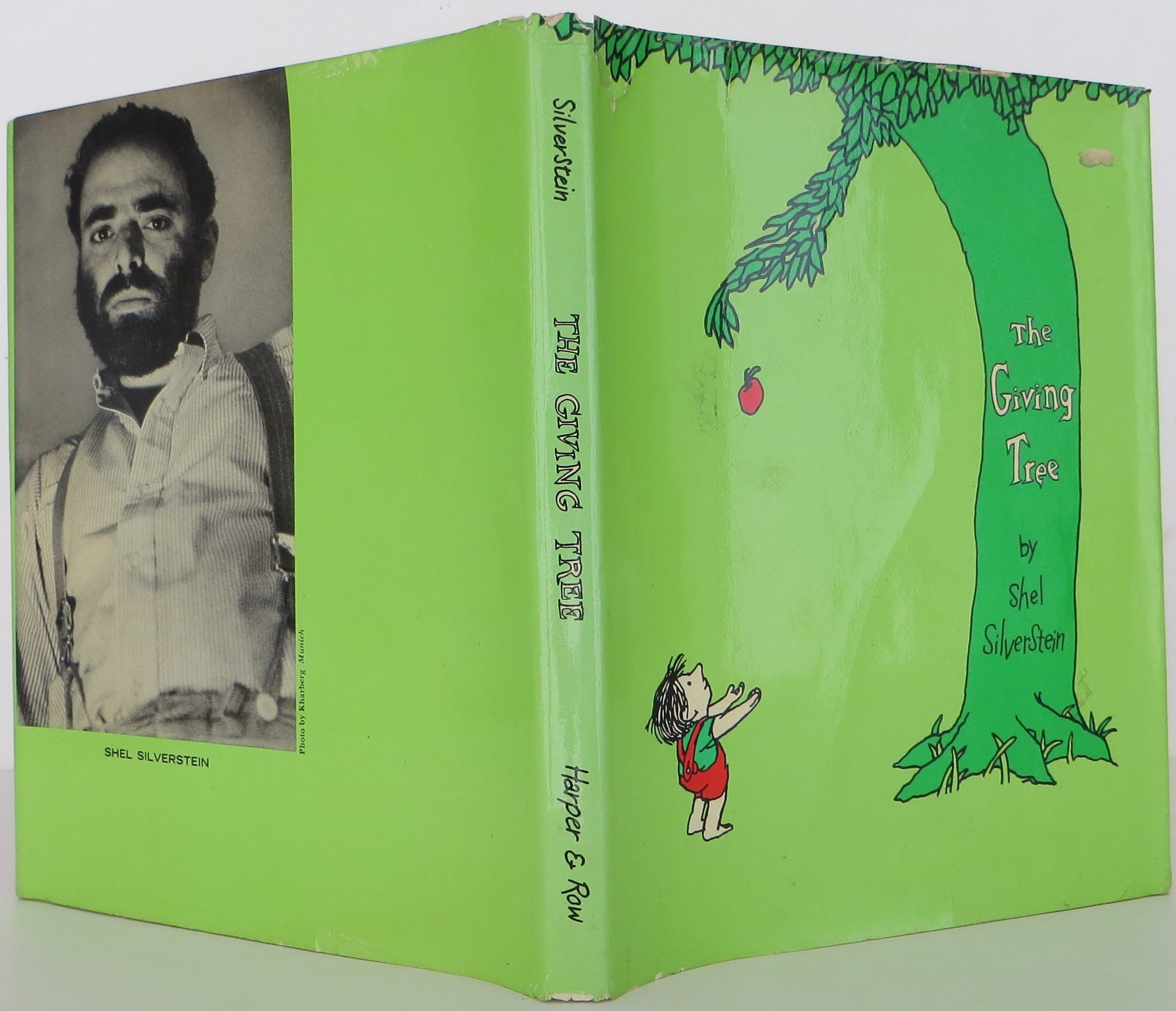 The Giving Tree by Shel Silverstein - Hardcover - Second ...