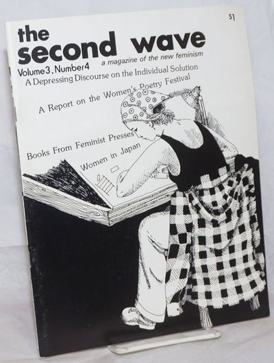 Cambridge: Second Wave, 1974. Magazine. 48p., 8.5x11 inches, illustrations, articles, very good maga...