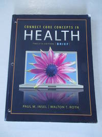 Connect Core Concepts In Health: Brief / With McGraw-Hill Connect Access Card Plus+