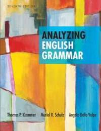 image of Analyzing English Grammar (7th Edition)