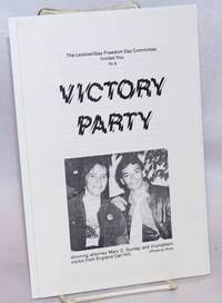 The Lesbian/Gay Freedom Day Committee invites you to a Victory Party [pamphlet]
