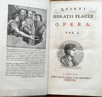 Quinti Horatii Flacci, Opera, complete in 2 volumes by  Horace) Quinti Horatii Flacci (Quintus Horatius Flaccus - Hardcover - 1749 - from Shadyside Books and Biblio.com