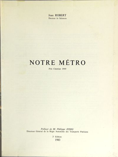 : J. Robert, 1983. Second edition, 4to, pp. 511, ; numerous photographic illustrations in black & wh...