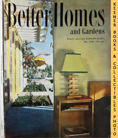 Better Homes And Gardens Magazine May 1948 Vol 26 Number 9 Issue By Harry T Stories By J