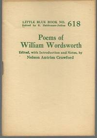 The Poems Of William Wordsworth By Wordsworth William