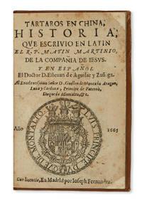 image of Tartaros en China: historia qve escrivio en latin Matin [sic] Martinio, y en español Esteuan de Aguilar y Zuñiga