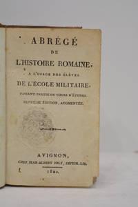 ABREGE de l'histoire romaine à l'usage des élèves de...