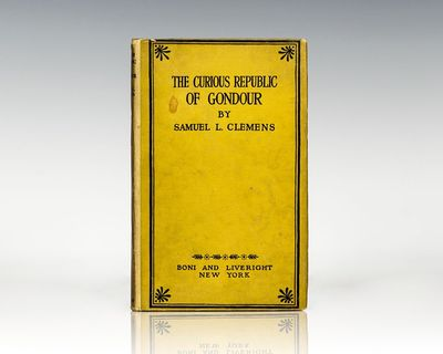 New York: Boni and Liveright, 1919. First edition of this collection of stories. Octavo, original cl...