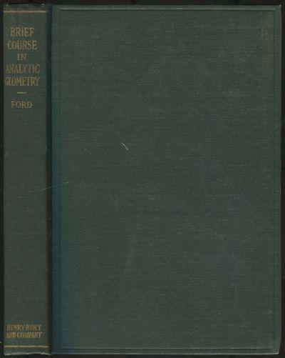 New York: Henry Holt and Company, 1932. Hardcover. Fine. Reprint. Octavo. 310pp. Dark green cloth bo...