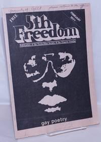 The Fifth Freedom [aka 5th freedom]: publication of the Buffalo Gay Community; vol. 9, #1, Jan/Feb 1979: Gay Poetry