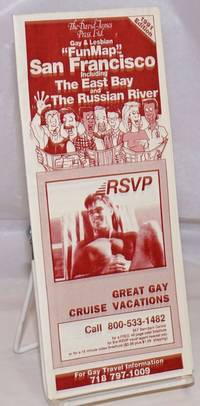 image of David James Press, Ltd.  Gay_Lesbian Fun Map San Francisco including East Bay_The Russian River 1991 edition