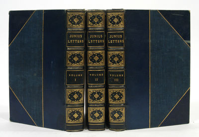 1812. JUNIUS, INCLUDING LETTERS BY THE SAME WRITER UNDER OTHER SIGNATURES (Now first collected). To ...