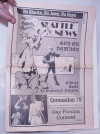 image of Seattle Gay News: vol. 6, #3, February 16, 1979: Gay or Damned: a brief guide to organized religion