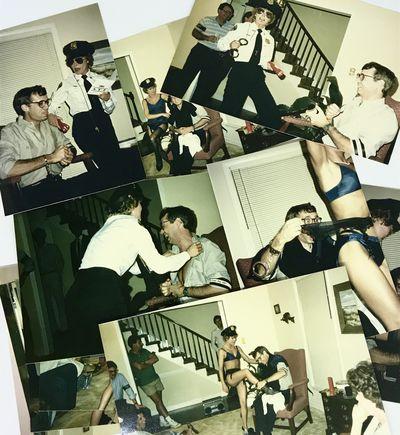 Color photos. Near fine. 21 Color photos. (16) 15 x 10 cm. (5) 12.5 x 9 cm. Late 1980's party featur...