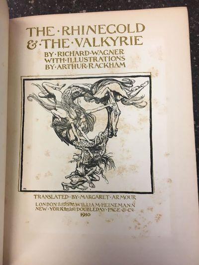 London: William Heinemann, 1910. First Edition Thus. Hardcover. Quarto, 159 pages; VG-; rebound in q...