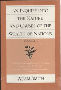 image of An Inquiry Into the Nature and Causes of the Wealth of Nations, Volume 1