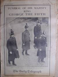image of The Daily Telegraph Pictorial Supplement. January 29, 1936. Funeral of His Majesty King George The Fifth.