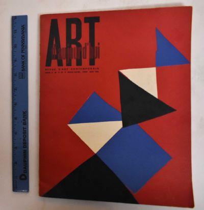 Paris: Art d'Aujourd'hui, 1954. Softcover. VG-, slight wear along edges, rubbing on covers. Inside c...