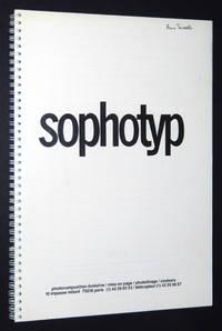 Sophotyp, Photocomposition Evolutive: 1980s French Type Specimen Catalogue