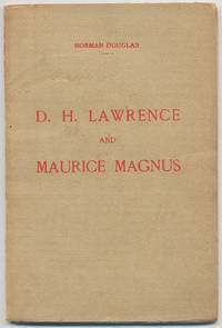D.H. Lawrence and Maurice Magnus: A Plea For Better Manners