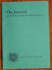 The Journal of the William Morris Society Volume VI Number 3 Summer 1985