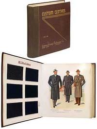 New York and Chicago: International Tailoring Co, 1940. Hardcover. Near Fine. Massive heavy folio. T...