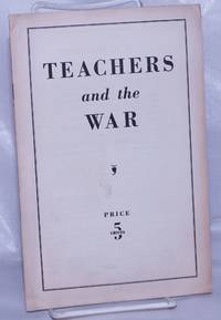 image of Teachers and the war