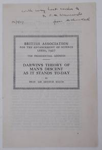 The Presidential Address.  Darwin's Theory of Man's Descent as it Stands To-Day [ British...
