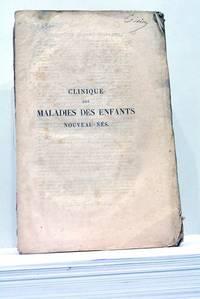 Clinique des Maladies des Enfants Nouveau-Nés.