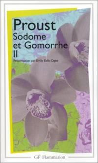 image of Sodome et Gomorrhe (Volume 2) (Garnier-Flammarion)
