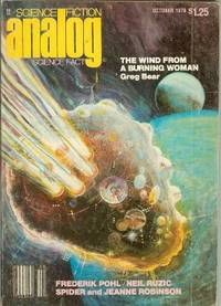 """ANALOG Science Fiction/ Science Fact: October, Oct. 1978 (""""The Wind from a Burning..."""