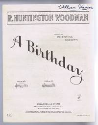 A Birthday. No. 1 in A flat. No.1871