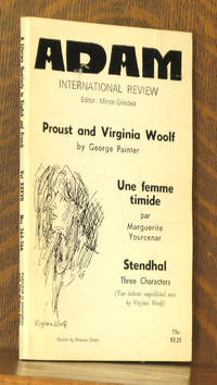 ADAM - INTERNATIONAL REVIEW VOL. XXXVII, NOS. 364-366  PROUST AND VIRGINIA WOOLF