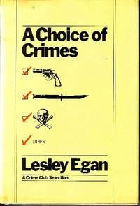 A Choice of Crimes