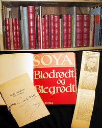 1923 - 1957 Collection of over 50 individual Inscribed & Signed Publications of Danish Humorist Playwright Author Carl Erik Soya