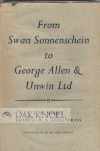 London: George Allen & Unwin Ltd, 1955. cloth, dust jacket. 8vo. cloth, dust jacket. 100 pages. With...