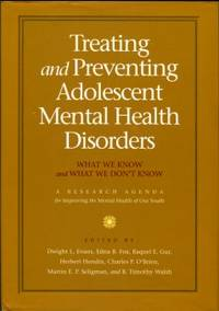 image of Treating And Preventing Adolescent Mental Health Disorders: What We Know And What We Don't Know
