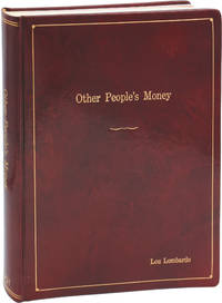 image of Other People's Money (Original screenplay for the 1991 film, film editor Lou Lombardo's copy)