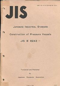 Construction of Pressure Vessels (JIS B 8243)