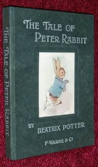 TALE of PETER RABBIT, 1902 COPYRIGHT, 1st ILLUSTRATED END PAPERS