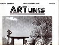 ARTlines - The Guide to Art, Artists, Events and Ideas -  August 1981 (Volume Two, Number Eight)