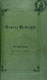 [Binding, Fine- Roger de Coverly & Sons] Neuerer Gedicthe [Newer Poems]