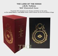 image of Trilogy: THE LORD OF THE RINGS Custom Clamshell Collector's Case or slip case for the trilogy (NOT A BOOK)