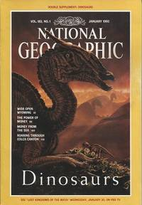 Dinosaurs, National Geographic Vol. 183, No. 1, January 1993 Wide Open  Wyoming, Money, Shell Money, Colca Canyon